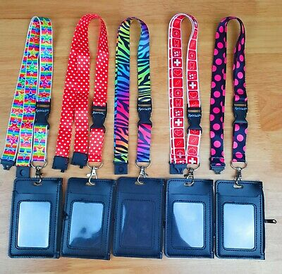 $8.96 • Buy Neck Travel Wallet Pouch ID Card Holder With Zip & Money Bag + Lanyard SpiriuS