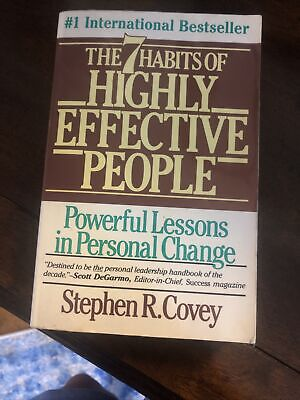 AU8.93 • Buy The 7 Habits Of Highly Effective People - Paperback - VERY GOOD