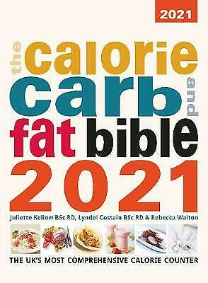 £15.50 • Buy Calorie Carb And Fat Bible 2021, Costain, Lyndel,  Paperback