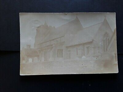 Cambridgeshire, WITCHAM CHURCH, High Street Ely,Rp Postcard Dated 1907. • 1.49£