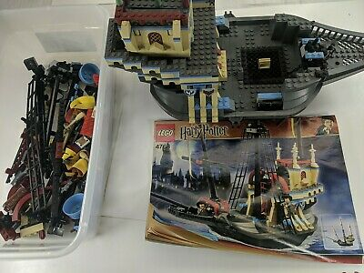 $ CDN89.48 • Buy LEGO Harry Potter 4768 The Durmstrang Ship Set -RARE Complete With 2 Minifigs