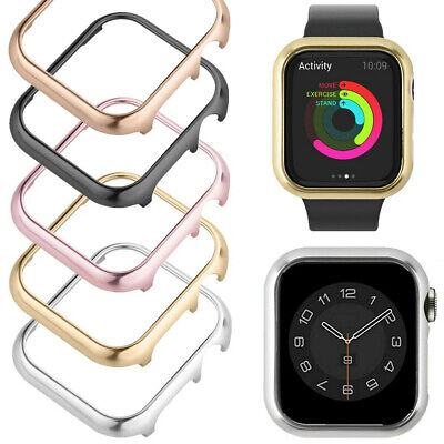 $ CDN7.51 • Buy Protective Case Cover Bumper Frame Shell For Apple Watch Series 6 5 4 3 2 1