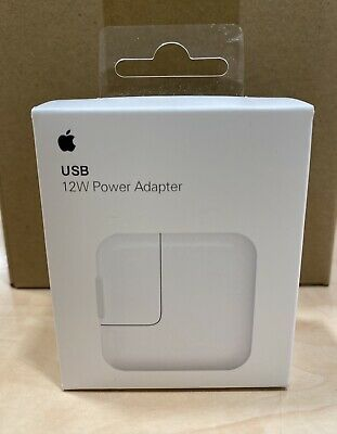 AU26.95 • Buy 100% Genuine Apple 12w Fast USB Wall Adapter Charger IPhone IPad