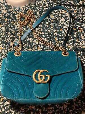 AU1200 • Buy Authentic Gucci GG Marmont Matelasse Shoulder Bag
