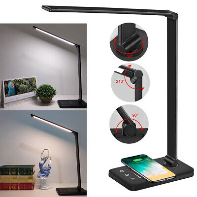 AU22.99 • Buy Touch LED Desk Lamp Bedside Study Reading Table Night Light USB Ports Dimmable