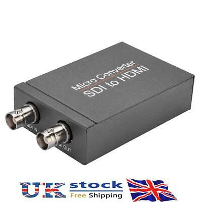 £24.19 • Buy HD 3G SDI To 1080P HDMI-compatible Converter Adapter Audio Auto Format Detection