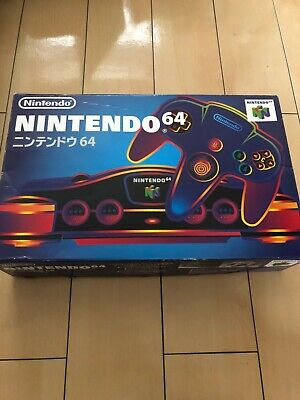 AU193.19 • Buy Nintendo 64 Console Charcoal Gray BOXED And MANUAL N64 JAPAN