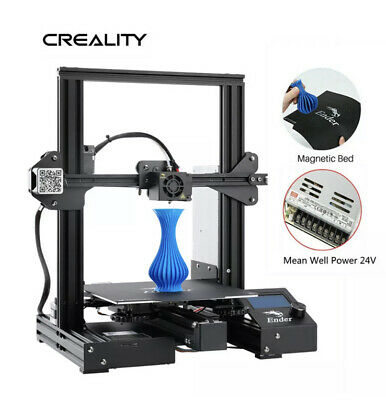 Creality Ender 3 Pro 3D Printer 220X220X250mm Mean Well Power DC 24V Upgraded • 76£