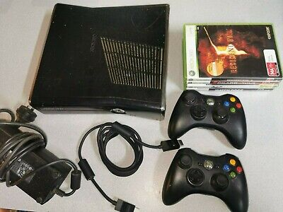 AU149.99 • Buy Xbox 360 S Console 250GB+ 2 Controllers & 4 Games FREE POSTAGE