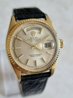 $ CDN8349.26 • Buy Vintage Rolex Oyster Perpetual Day Date 36mm 18K Gold Watch Ref.1803