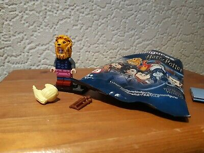 Lego Mini Figure Harry Potter Series 2 - Luna Lovegood With Lion Hat • 2.99£