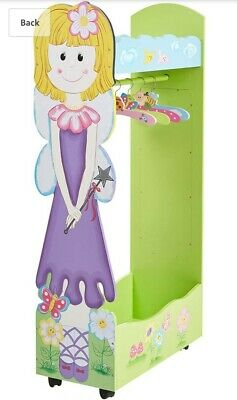 £40 • Buy Girls Wooden Fairy Clothes Dressing Up  Rail New In Box Flatpack COLLECTION ONLY
