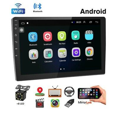 AU153.62 • Buy 1X(Car Stereo Double Din Android Navigation Stereo 10.1 Inch  Press Screen I7B9)