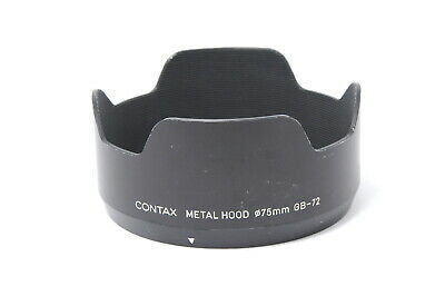 $ CDN139.32 • Buy [Exc CONTAX Metal Lens Hood GB-72 For 645 80mm 55mm Lens From JAPAN E79