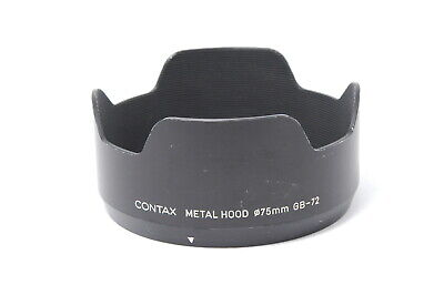 $ CDN139.13 • Buy [Exc CONTAX Metal Lens Hood GB-72 For 645 80mm 55mm Lens From JAPAN E79
