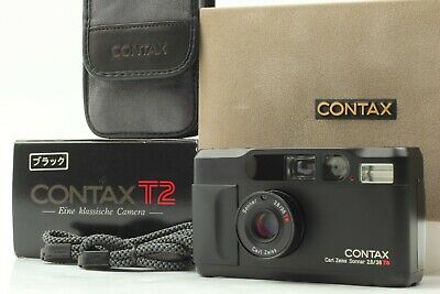 $ CDN2793.34 • Buy [MINT In BOX] CONTAX T2 Limited Black 35mm Point & Shoot Film Camera From Japan