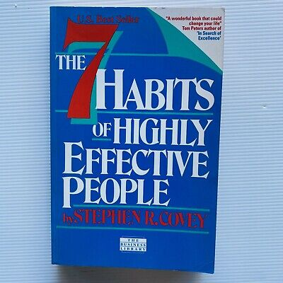 AU18.78 • Buy Vintage The 7 Habits Of Highly Effective People By Stephen R. Covey (Paperback)