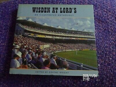 £3 • Buy Wisden At Lords: An Illustrated Anthology By Bloomsbury Publishing PLC Hardback