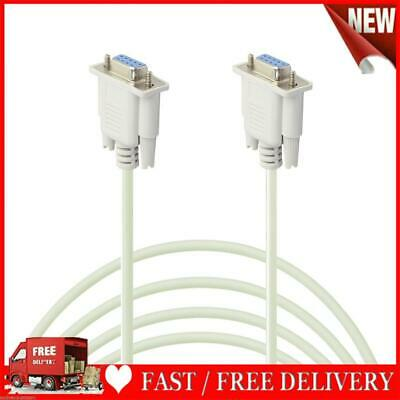 AU8.24 • Buy Serial RS232 9-Pin Female To Female DB9 9-Pin PC Converter Cable(1.5 M)