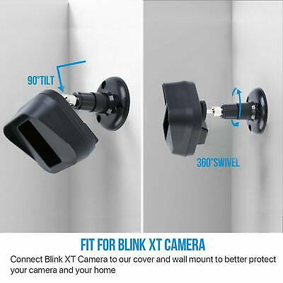 Camera Wall Mount Bracket Blink XT ,Weather Proof 360° Protective Case • 7£