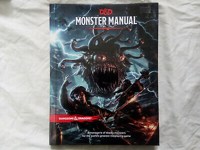 AU34.50 • Buy Dungeons & Dragons Monster Manual 5th Edition