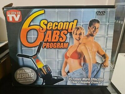 AU50 • Buy 6 Second Ab Machine As Seen On TV  - Comes With Machine And Dvd Amazing Results