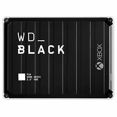 AU227.60 • Buy WD_Black 5TB P10 Game Drive For Xbox One Portable External Hard Drive HDD Wit...