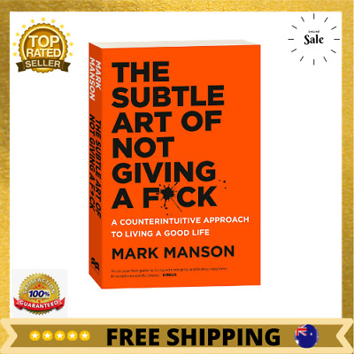 AU24.28 • Buy BRAND NEW The Subtle Art Of Not Giving A Fck F*ck F * Ck Fuck FAST FREE SHIPPING