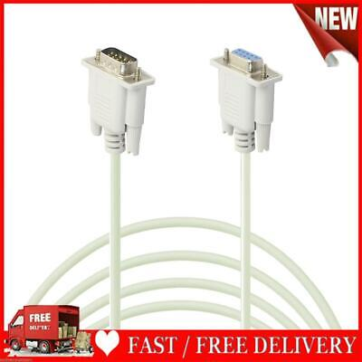 AU9.20 • Buy Serial RS232 9-Pin Male To Female DB9 9-Pin Converter Extension Cable(3m)