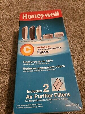 Honeywell HEPAClean C Hepa Type Replacement Air Purifier Filter HRF-C2 2 Pk NEW  • 16.26£