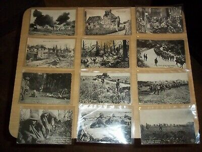 $19.99 • Buy Lot Of 12 WWI Postcards