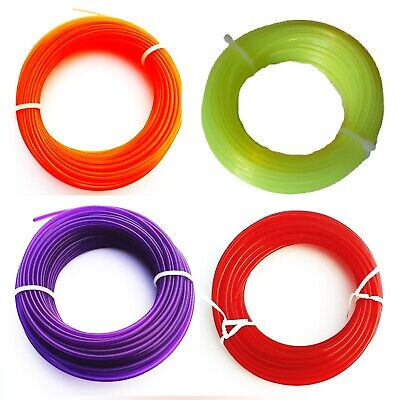 £4.25 • Buy Strong Strimmer / Strimming Strim Trimmer Cord Cable Line   Choice Of 4 Widths