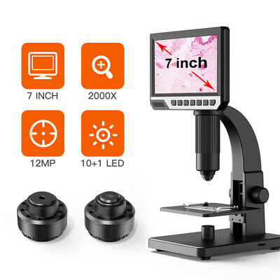£86.52 • Buy 7inch HD USB Digital Microscope Camera For Phone Repair Continuous Amplification