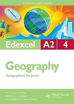 £2.59 • Buy Edexcel A2 Geography Student Unit Guide: Unit 4 Geographical Research (Student U