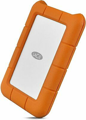 AU142.36 • Buy LaCie Rugged USB-C 5TB External Hard Drive Portable HDD – USB 3.0, Drop Shock Du