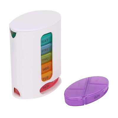£4.29 • Buy 7 Day Pill Box Medicine Tablet Dispenser Organiser Weekly Storage Weekly Daily