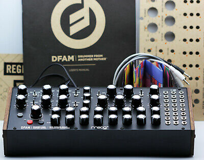 AU766.04 • Buy MOOG DFAM With KNOB UPGRADE! Drummer From Another Mother Drum Synth *MINT*