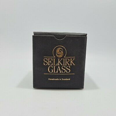 £19.99 • Buy Selkirk Glass Paperweight Caress 1990 With Box