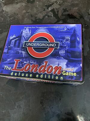 £11 • Buy The London Underground Board Game Deluxe Edition By Toy Brokers
