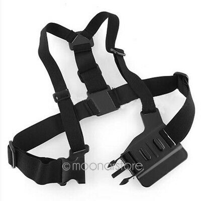 AU17.65 • Buy Elastic Cord Chest Strap Mount Harness For GOPRO Hero 3+/3/2