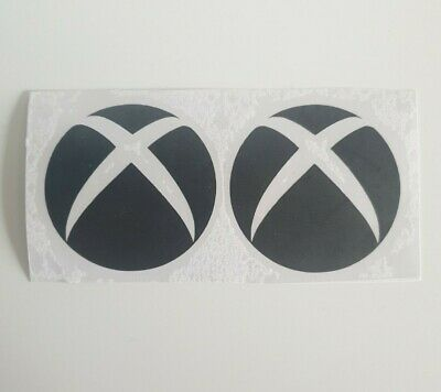 £2.20 • Buy Xbox Console Vinyl Decal Sticker X2 Xbox Symbol Wall Laptop Lunch Box Bedroom