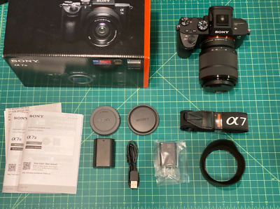 AU728.21 • Buy Sony Alpha A7 III With 28-70mm Lens 1388 Shutter Count A7III ILCE-7M3K