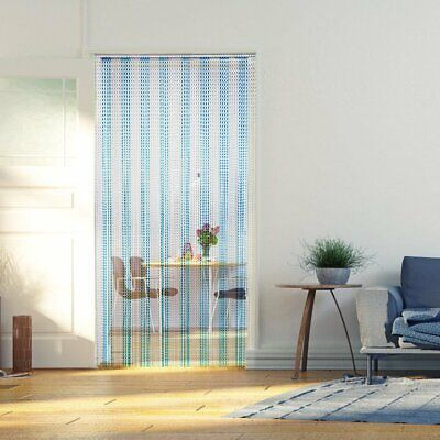 OGORI Aluminum Door Curtain Metal Chain Fly Insect Blinds Screen Pest Control UK • 0.01£