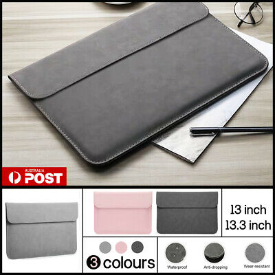 AU18.95 • Buy Pouch Laptop Bag Cover PU Leather Sleeve Case MacBook Air Pro Dell Lenovo Retina