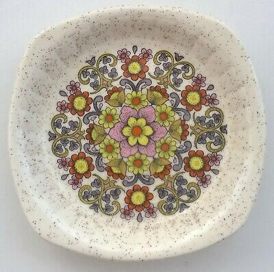 £5.75 • Buy Small Royal Worcester Palissy Speckled Dish With Floral Design