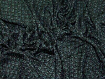 £8.99 • Buy Ponte Roma Double Knit Fabric Green - Sold Per Metre