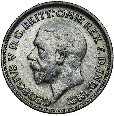 £6 • Buy 1931 Sixpence - George V British Silver Coin - Nice