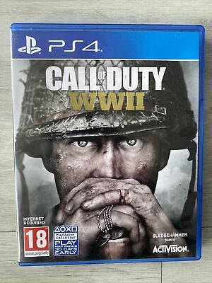 £9.95 • Buy Call Of Duty WWII COD World War 2 PS4 PRISTINE
