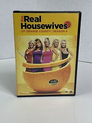 £17.74 • Buy The Real Housewives Of Orange County: Season 4 DVD 4-Disc Set