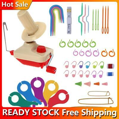 Wool Winder Yarn Fiber String Winding Machine Household DIY Knitting Tool • 14.57£